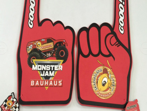 富利凯案例之Monster-Jam定制EVA手套