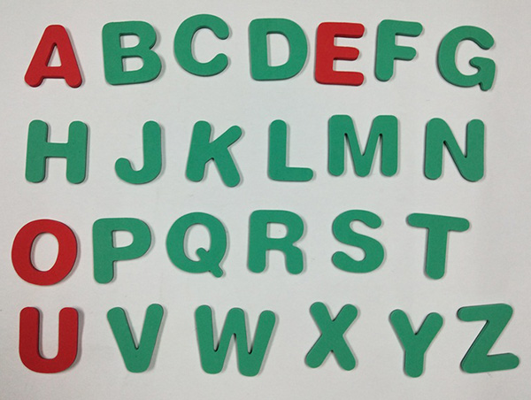 eva字母套装