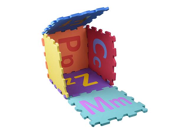 26字母EVA地垫